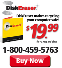 DiskEraser - Only $19.99. Visit the DiskEraser website!